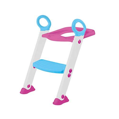 Assento Redutor Com Escada, Buba, Rosa