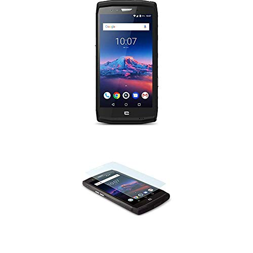 Crosscall Trekker-X4 Smartphone (5,5 Zoll - 64 GB internal Speicher - Dual Nano-SIM - Android) Schwarz + Screenprotector