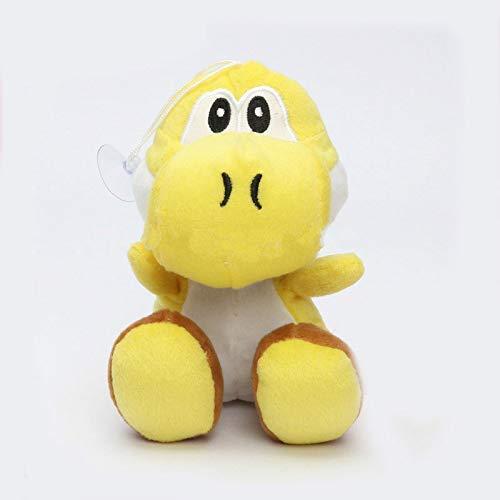 PHhomedecor Super Mario Bros Green Yoshi Plush Stuffed Dolls Mario Plush Toys Peluche Doll Figures Toys 17CM,toy-43