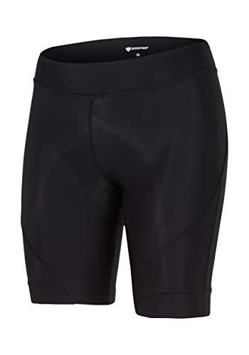 Ziener Damen CACEY X-GEL-TEC lady (tights) Fahrrad-Tight/Rad-Hose - Mountainbike/Rennrad - atmungsaktiv|schnelltrocknend|gepolstert