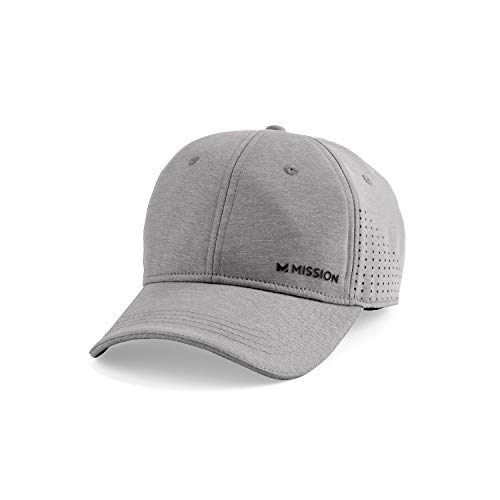 MISSION Vented Cooling Performance Hat- Unisex Baseball Cap