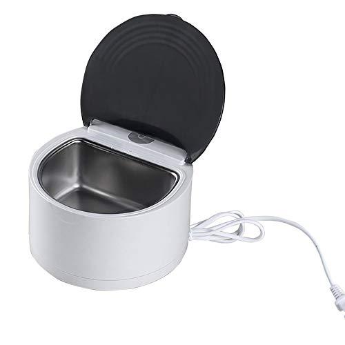 JesseBro76 Máquina limpiadora ultrasónica de Limpieza de baños por ultrasonidos CE-2200, Blanca y Negra