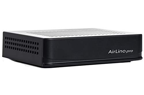 LinTech AirLino® pro WLAN/LAN und Bluetooth Empfänger/Receiver & Sender mit Bluetooth aptx, WLAN 2.4/5GHz und LAN (AirPlay2, DLNA; UPnP, WiFi, Internetradio, NAS, USB, Line-IN)