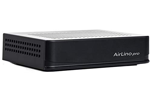 LinTech AirLino® pro WLAN und Bluetooth Empfänger/Receiver & Sender mit Bluetooth aptx, WLAN 2.4/5GHz (Airplay, DLNA; UPnP, WiFi, Internetradio, NAS, USB, Line-IN, LAN)