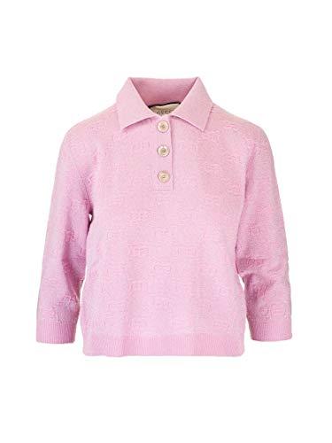Gucci Luxury Fashion Damen 599273XKA5X5152 Rosa Poloshirt   Frühling Sommer 20