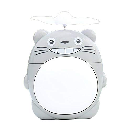HUI JIN Ventilador de animales de dibujos animados Mini ventilador de mano lindo ventilador de escritorio USB ventilador de juguete