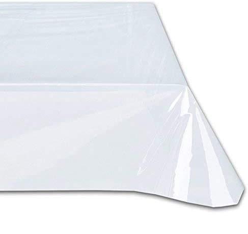 Cieffepi Home Collections Tovaglia da tavola in PVC Trasparente (140 x 180 cm)