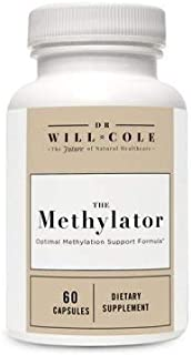 Dr Will Cole | Methylator Dietary Supplement | Optimal Methylation Support Formula | 60 Capsules