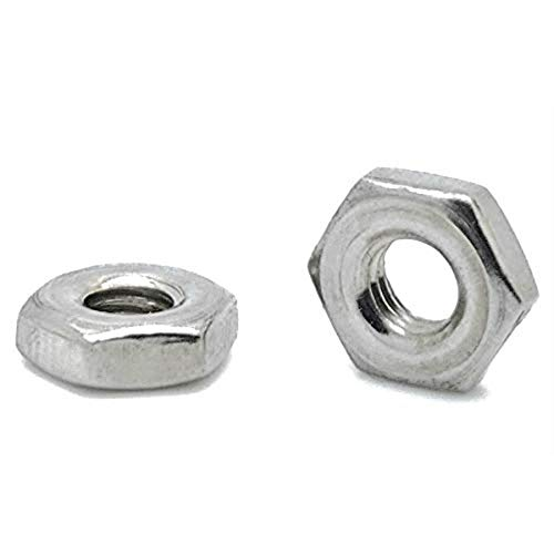 100 Qty 8-32 SAE 304 Stainless Steel Machine Screw Hex Nuts (SNG578)