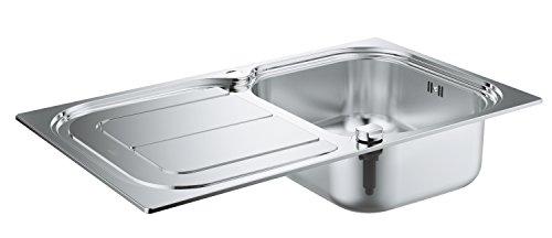 GROHE K300 | Küche - Edelstahlspüle mit Abtropffläche | edelstahl | 31563SD0