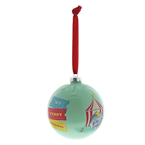 Enchanting Disney, Bola para colgar de Dumbo, Navidad Deco, Enesco
