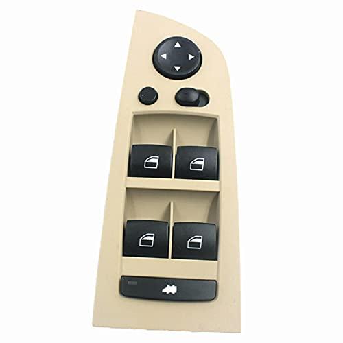 NsbsXs para BMW E90 E91 318i 320i 325i 330i 335i M3 Accesorio de Coche 61319217331 Interruptor de Control de elevalunas eléctrico Principal Delantero Izquierdo