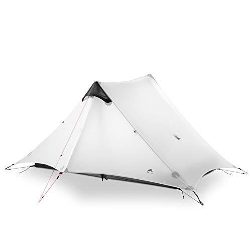 JooGoo Outdoor 2 Person Spire Tent Ultra Light Camping Automatische Dubbele Riot Riot Verdikking Vier Seizoen Tent