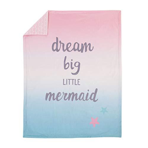 NoJo Sugar Reef Mermaid Super Soft Ombre Baby Blanket