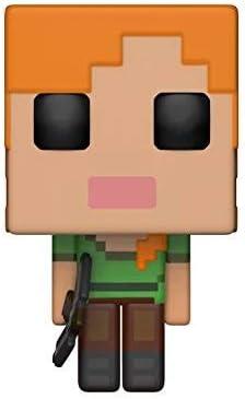 Funko Pop!- Games: Minecraft: Alex, Multicolor (26384 ...