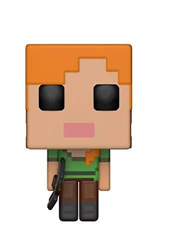 Funko - Figurine POP Vinyle - Games - Minecraft - Alex, 26384