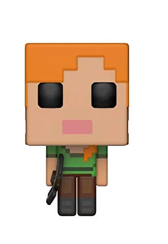 Funko 26384 S1 Pop Vinylfiguur Games Minecraft Alex, multi, één maat