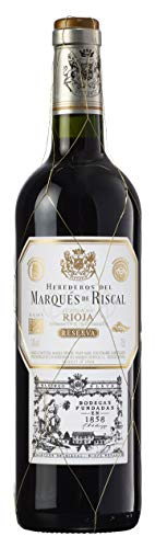 Marqués de Riscal Reserva - Trockener Rotwein in Reserva-Qualität aus der Region Rioja in Spanien (1 x 0,75l)
