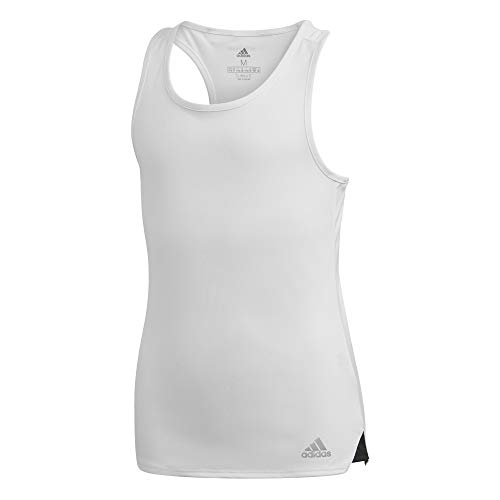 adidas - Fitness-Tanktops für Mädchen in Blanco/Plamat/Negro, Größe 152