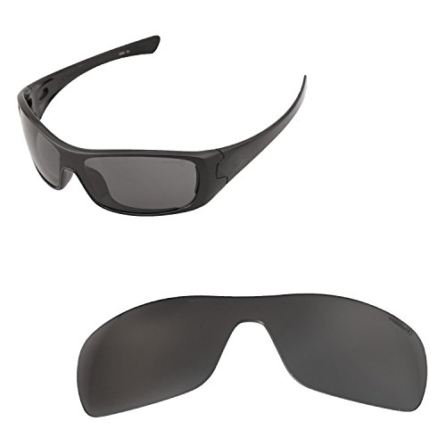 sunglasses restorer Kompatibel Ersatzgläser für Oakley Antix, Polarisierte Black Iridium Gläser