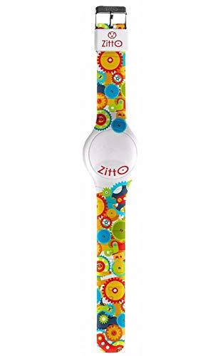 ZITTO Flash Edition Reloj LED con Correa de Silicona Multicolor Now LEGALE2 Small
