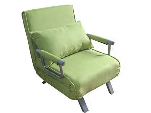 ITALFROM 4034 Divano Letto Sofa Bed Verde DIVANI 67x69x83h DIVANETTI Divano Letto 1 Piazza