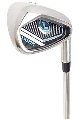LAZRUS Premium Golf Irons Individual or Golf Irons Set for Men (4,5,6,7,8,9) Driving Irons (2&3) Right Hand Steel Shaft Regular Flex Golf Clubs - Best Golf Iron Set - Great Golf Gift (7 Iron)
