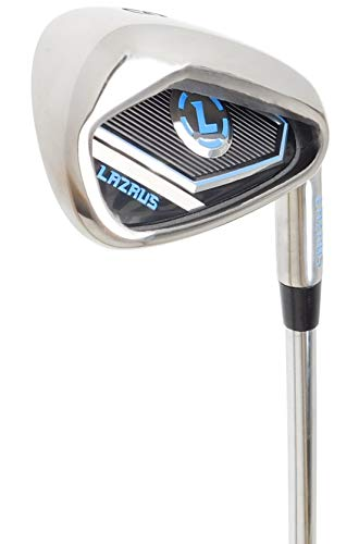 LAZRUS Premium Golf Irons for Men (8 Iron) Right Hand Steel Shaft Regular Flex Golf Clubs - Best Golf Iron - Great Golf Gift for Beginner Or Intermediate