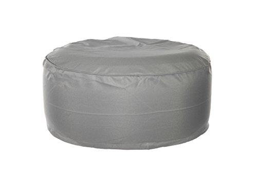 Cepewa Outdoor Sitzsack Sitzkissen Bodenkissen Sessel Sitting Bag aufblasbar (grau)