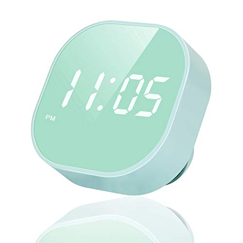Outwit Digital Alarm Clock, Multi-Functional Magnetic LED Smart Sensor Alarm Clock for Kids, Dual Alarm, Battery Backup with Temperature Countdown Timer, Compact Clock for Desk Bedroom Kitchen
