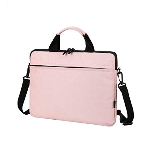 LYB Waterproof Zipper Handbag Sleeve Case for Huawei Matebook X Pro D14 D15 13.9' 13' 14' 15.6' Pouch Bag Cover MagicBook Pro 16.1 (Color : Pink, Size : 15 Inch (37X26X2CM))