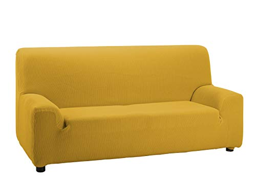 Cardenal Textil Valencia Funda de sofá, Textil, Oro, 4 Plazas