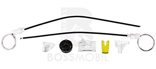 Bossmobil SCÉNIC I (JA0/1_), MEGANE Scenic (JA0/1_), Delantero izquierdo, kit de reparación de elevalunas eléctricos