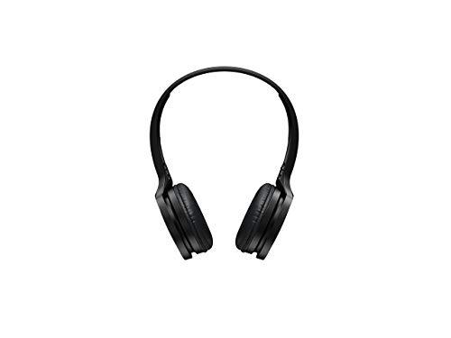 Panasonic RP-HF400BE-K Bluetooth On-Ear Kopfhörer (On-Ear, 20 h Akkulaufzeit, Quick Charge, Mikrofon, Sprachsteuerung, schwarz)