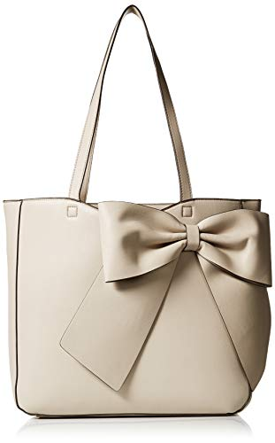 Karl Lagerfeld Paris Canelle Large Bow Tote, smog