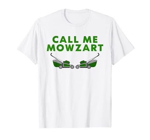 Hombre Call Me Mowzart - Cortacésped divertido para papá Camiseta