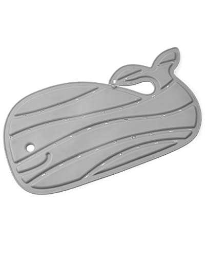 Skip Hop Moby Non-Slip Baby Bath Mat, Grey
