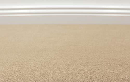 Teppichboden Auslegware Vorwerk Bijou UNI Sand Muster