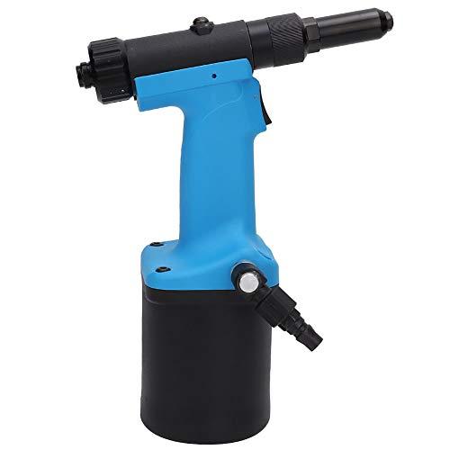 WanRomJun RIVERTERO NEUMÁTICO 7201M Industrial Remache Neumático Pistola De Avión Rivedor De Nueces Herramienta De Remache 3.2, 4.0, 4,8 Mm Gama Azul Negro