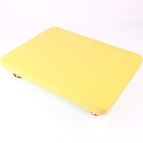 lxfy Pädagogisches Handbuch Plastic Scooter Board | Perfekt für Kinder, Jugendliche, Erwachsene | Sportunterricht, Sportunterricht, Kindertagesstätte, Vorschulentwicklung, Spiele