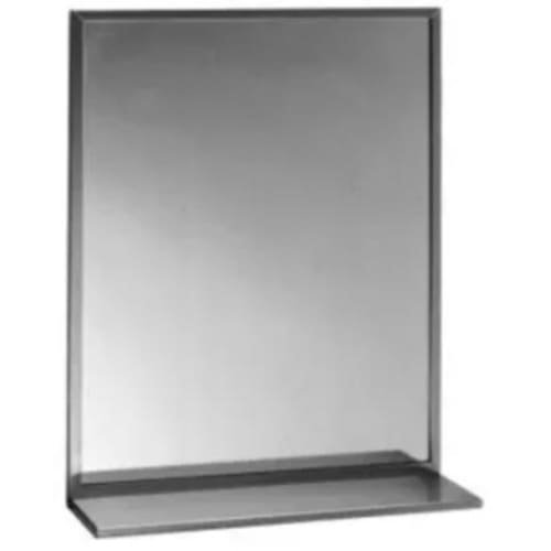 Bobrick - B-166 2436-24 in by 36 in Channel Frame Mirror with -