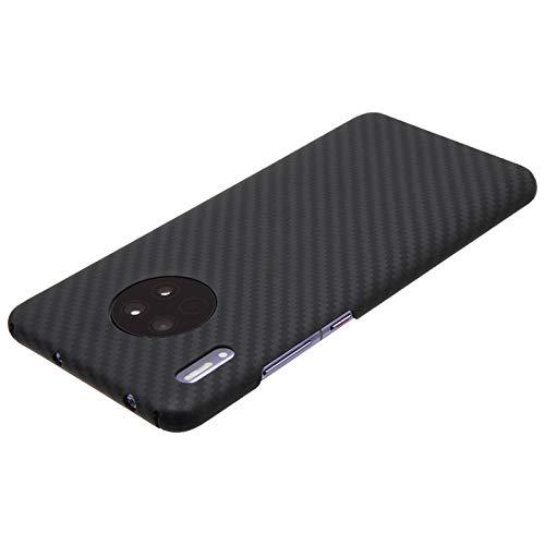SENDIAYR Estuche para teléfono de Fibra de CarbonoMaterial de Fibra de aramidaDelgado y liviano| Estuches Ajustados , para Huawei mate30pro Mate 30