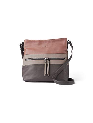TOM TAILOR Damen Taschen & Geldbörsen Hobo-Tasche Ellen Grey,OneSize