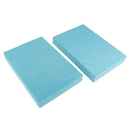 MagiDeal 2pcs PVC Hartschaumplatte Schaumplatte Bastelplatte, versch Größen - 29.5x20x4cm