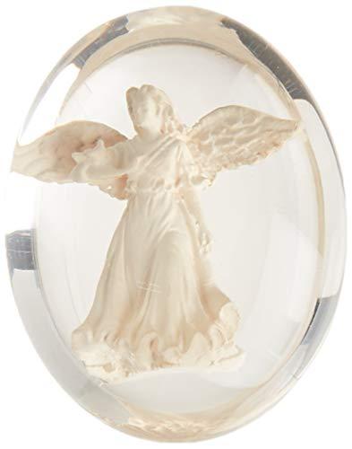 AngelStar 8706 Healing Angel Worry Stone, 1-1/2-Inch, White