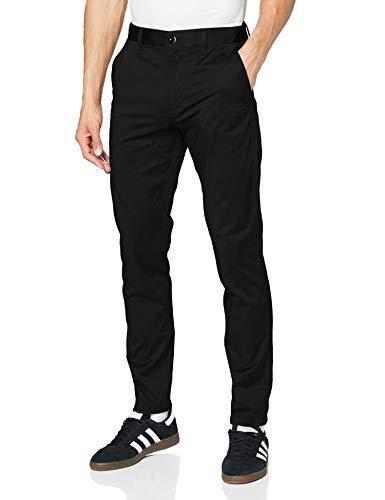 G-STAR RAW Bronson Slim Chino Pantalones, Negro (black 5126-990), 38W / 32L para Hombre