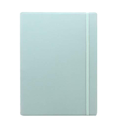 Filofax 115096 - Cuaderno de notas (tamaño A4, rellenable, piel sintética), diseño de pato, color azul