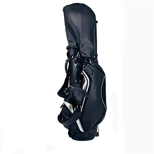 Caddybags Golfhalter Tasche Schultern Leichte männliche Clubsack ultralicht Leicht zu tragen (Farbe : Black, Size : 45x91x129cm)