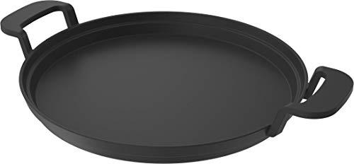 Nexgrill Gusseisen-Pfanne ø 32 cm ProTouch Grillzubehör, Grillpfanne mit 2 Griffen für Gasgrill, Bratpfanne Grill, Plancha Eisenpfanne für Backofen geeignet