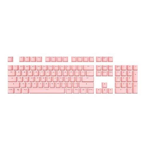 Mmbh 104 Piezas de Kit de reemplazo de backlito de Dos Colores Accesorios para el Kit de reemplazo para Cherry/Kailh/Gateron/Outemu Switch Teclado mecánico (Color : Sakura Pink)